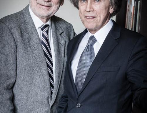 Erhard Busek und Emil Brix