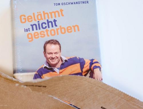 Tom Gschwandtner – Gelähmt ist nicht gestorben | Coverfoto