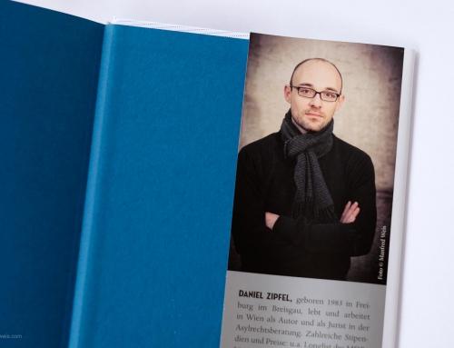 Der Autor Daniel Zipfel in der neuen Literaturreihe bei Kremayr & Scheriau