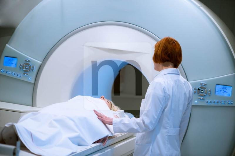 Medizinische Fotos Magnetresonanztomografie