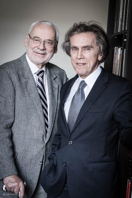 Dr. Erhard Busek, Dr. Emil Brix