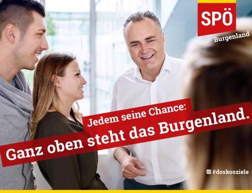 SPÖ Burgenland Imagekampagne
